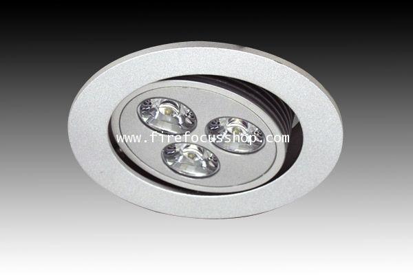 โคม Down Light สำหรับหลอด Dicroic Power LED แบบปรับหมุนได้ รุ่น HD16-3LED ยี่ห้อ Sunny