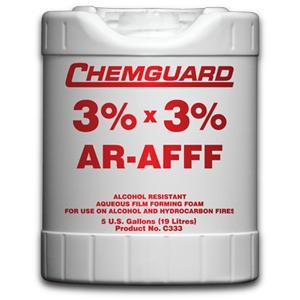 น้ำยาฟองโฟม 3 เปอร์เซนต์ AR-AFFF ขนาด 208 ลิตร  รุ่น C333D ยี่ห้อ CHEMGUARD มาตรฐาน UL listed