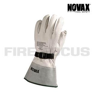 ถุงมือสวมทับป้องกันไฟฟ้า รุ่น G-LPG-M13S สวมทับถุงมือ Class 3 - 4 (26500-36000V) ยี่ห้อ NOVAX