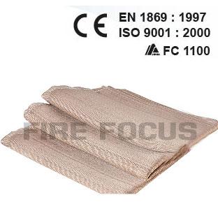 ผ้าห่มกันไฟ รุ่น S, M, L, XL ทนความร้อน 550\'C PVC pouch ยี่ห้อ YAMADA