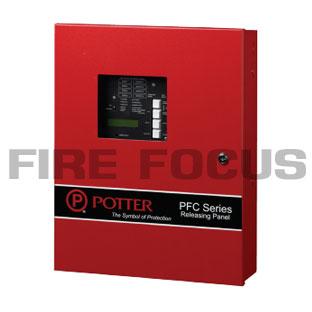 ตู้ควบคมระบบเปิดปิดน้ำดับเพลิงและถังดับเพลิง รุ่น PFC-4410RC ยี่ห้อ Potter Electric