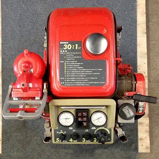 ปั๊มสูบน้ำดับเพลิงมือสอง รุ่นP450 สตาร์ท 2 ระบบ ยี่ห้อ RABBIT