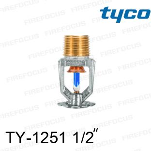 สปริงเกอร์แบบเพนเด้นท์สีน้ำเงิน TY-B 286F รุ่น TY-1251 (K2.8) 1/2 นิ้ว ยี่ห้อ TYCO