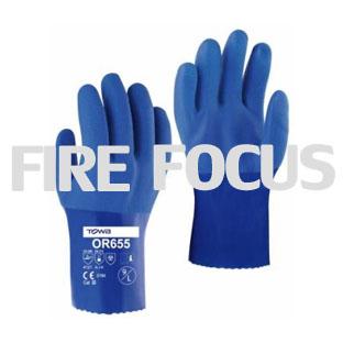 ถุงมือผ้าเคลือบพีวีซี รุ่น 655 ยี่ห้อ Towa