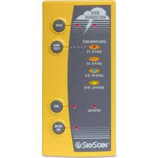 เครื่องตรวจจับฟ้าผ่าแบบพกพาตรวจได้ไกล 40 ไมล์ รุ่น P5-3 ยี่ห้อ SKY SCAN
