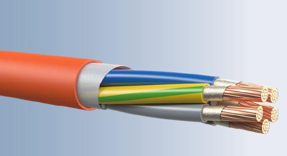 STUDER Fire Resistance Cable BS 6387(950C.3Hrs)Multicore model.BETAflam FR MI,90mc-Multicore,0.6/1kV
