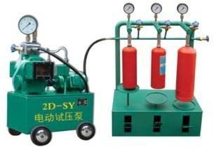 บริการรับทดสอบไฮโครสแตติกเทส ถังดับเพลิง พร้อมออกใบรับรองผล
