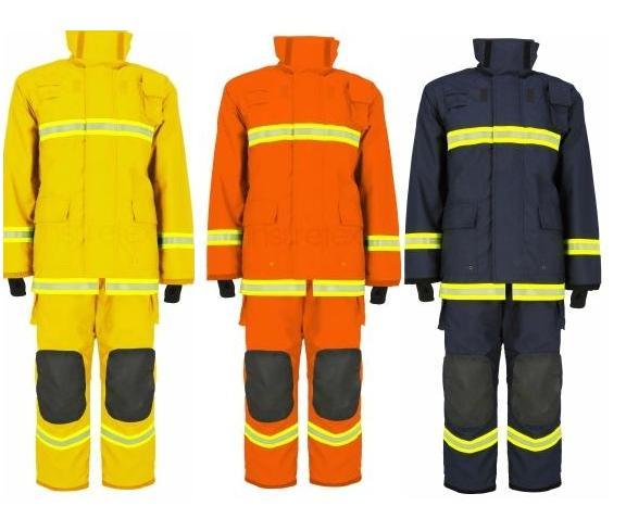 ชุดดับเพลิงแบบเสื้อ-กางเกง รุ่น FIRE199 มาตรฐาน EN469 ยี่ห้อ IST