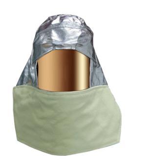 หมวกคลุมอลูมิไนซ์ใส Aluminized Hood (Custom made) รุ่น  07-6001 ยี่ห้อ IST