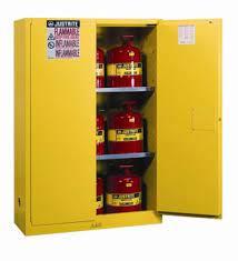 ตู้จัดเก็บสารเคมี 45 gallon ขนาด 65x43x18นิ้ว2 ชั้นวาง รุ่น 894500 ยี่ห้อ Justrite Approve : FM,UL,N