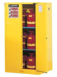 ตู้จัดเก็บสารเคมี 60 gallon ขนาด 66x34x34นิ้ว2 ชั้นวาง รุ่น 896000 ยี่ห้อ Justrite Approve : FM,UL,N