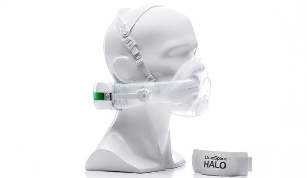 ชุดหน้ากากกรองอากาศสำหรับงานใน Lab และงานทางการแพทย์ รุ่น Clean Space ยี่ห้อ HALO
