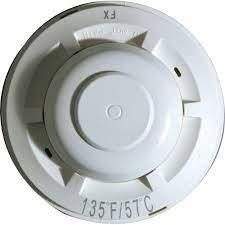 SYSTEM SENSOR Heat Detector, Dual Circuit Fixed Temperature 135\'F model.5623