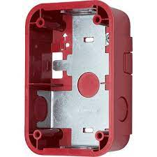 SYSTEMSENSOR Wall Surface Mount Back Box Compact, Red model.SBBGRL