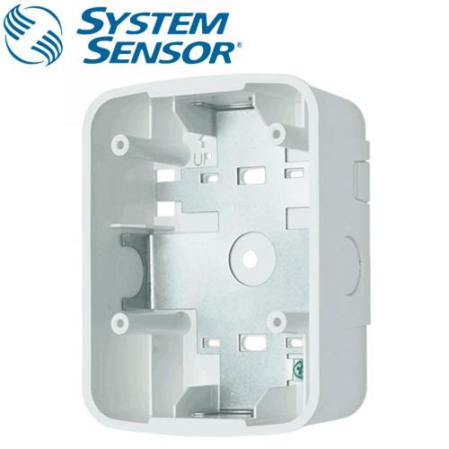 SYSTEMSENSOR Wall Speaker Surface Mount Back Box, White model.SBBSPWL