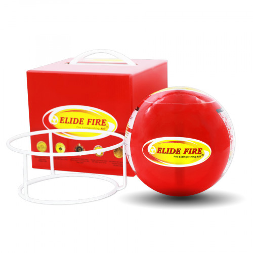 ลูกบอลดับเพลิง ELIDE FIRE® รุ่นน้ำหนัก 1.3 กิโลกรัม diameter 6 นิ้ว สำหรับเฝ้าระวังเพลิงในบ้าน อายุก