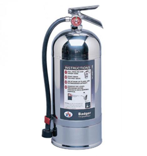 เครื่องดับเพลิงชนิดเคมีเหลว Class K ขนาด 6 ลิตร รุ่น WC-100 ยี่ห้อ Badger, UL สำหรับใช้ดับไฟในครัว