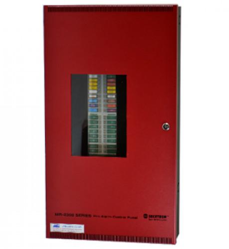 ตู้ควบคุมแจ้งเหตุเพลิงไหม้ 12 Zone รุ่น MR-2312-LDR ยี่ห้อ Secutron(UL)