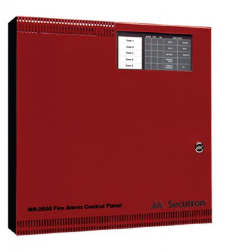 ตู้ควบคุมแจ้งเหตุเพลิงไหม้ 5 Zone รุ่น MR-2605 ยี่ห้อ Secutron(UL)