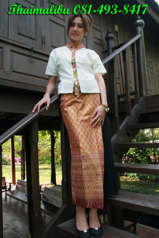 กางเกงเล ขายาว ผ้าโทเร สีพื้น