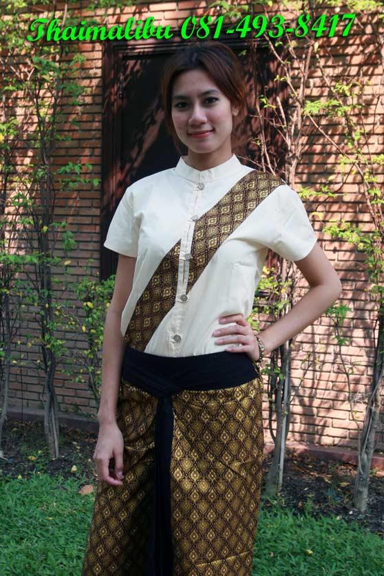 เสื้อผ้าโทเร ติดแถบลายไทย
