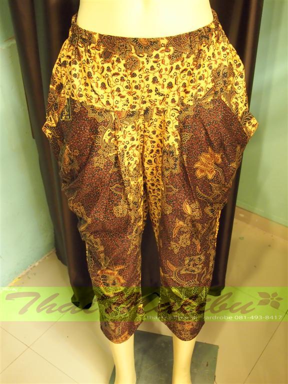 กางเกงผ้าไทย ทรงรูดข้าง 3