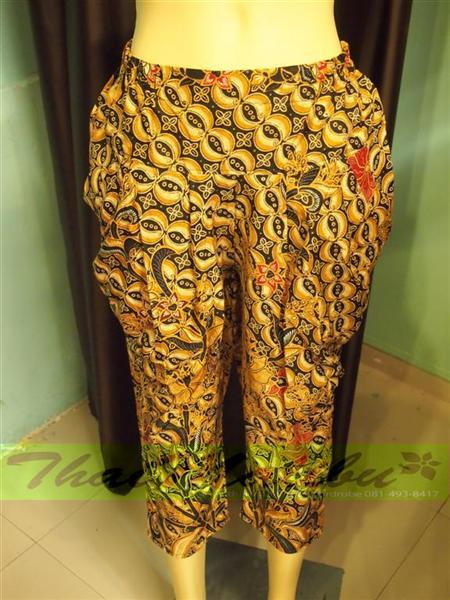 กางเกงผ้าไทย ทรงรูดข้าง 4
