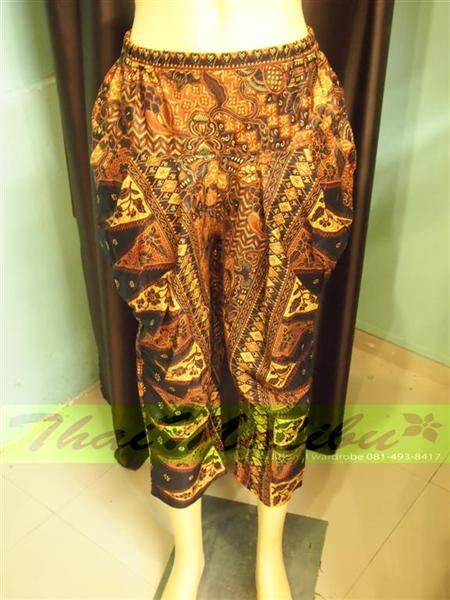 กางเกงผ้าไทย ทรงรูดข้าง 5