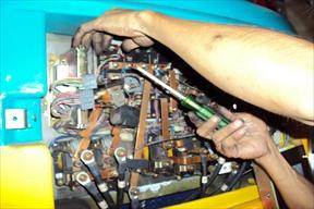 งานบริการซ่อมรถโฟล์คลิฟท์ไฟฟ้า2