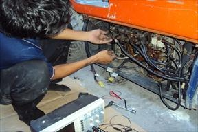 งานบริการซ่อมรถโฟล์คลิฟท์และทำ P.M.