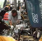 งานซ่อมเครื่องยนต์รถโฟล์คลิฟท์