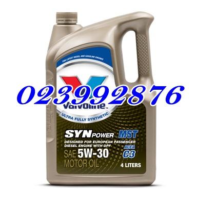 น้ำมันเครื่อง SYNPOWER MST (ซินพาวเวอร์ เอ็มเอสที) SAE 5W-30