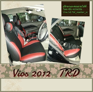วีออส2010 TRD  ดำ-แดง