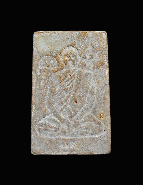 พระสมเด็จหลวงพ่อแพ หลังรูปเหมือน วัดพิกุลทอง ปี2509 เนื้อเกสร ผสมผง108 1