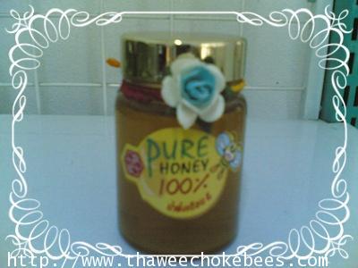 น้ำผึ้งเดือนห้า ขนาดบรรจุ 100 กรัมทัดดอกไม้ ราคาส่ง ไม่รวมค่าขนส่ง