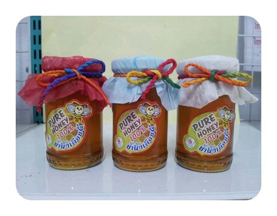 น้ำผึ้งเดือนห้า ขนาดบรรจุ 130 กรัม  ขั้นต่ำ 200 ขวด ราคาส่ง ไม่รวมค่าขนส่ง