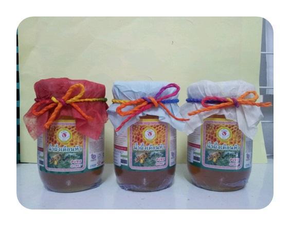 น้ำผึ้งเดือนห้า ขนาดบรรจุ 300 กรัม  ขั้นต่ำ 200 ขวด ราคาส่ง ไม่รวมค่าขนส่ง