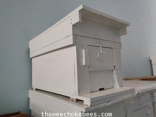 ลังผึ้งขนาดเล็กเหมาะสำหรับเลี้ยงผึ้งโพรงขนาดสูง 31 cm ความกว้าง 24 cm ความยาว 62 cmไม่รวมค่าขนส่งค่ะ