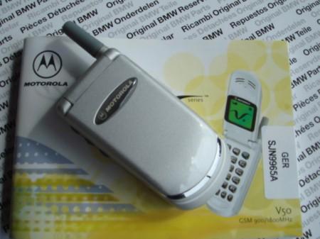 Motorola V50 BMW (ใหม่)ระบบ GSM 900/1800 Dual band  หายากมาก