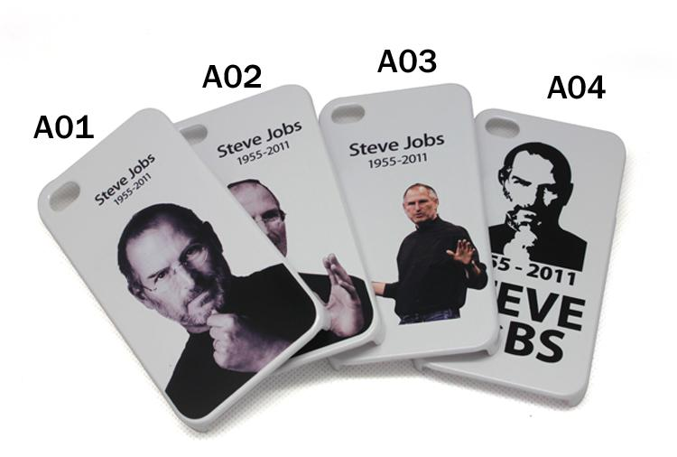 iPhone hard case (Steve Jobs) Memorial for iPhone 4 and 4s