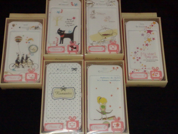 Happymori Hard case for iPhone4 and 4s (Made in Korea)