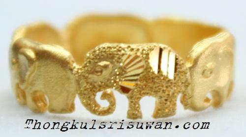 แหวนช้างหลายตัว