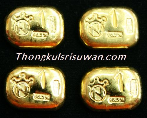 ทองคำแท่ง น้ำหนัก 1 บาท