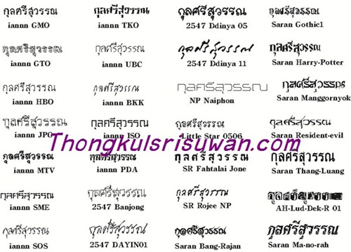 Font ตัวอักษรสำหรับยิงเลเซอร์ (2)