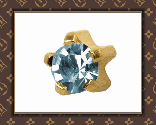 Tiffany birthstone - March (Aquamarine)