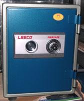 ตู้เซฟ รุ่น 25 kgs (สีฟ้า) New release