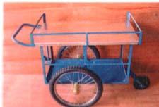 รถเข็นขายอาหารปูบน ขนาดเล็ก