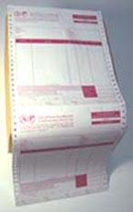 กระดาษต่อเนื่อง, แบบฟอร์มต่อเนื่อง, บิลต่อเนื่อง