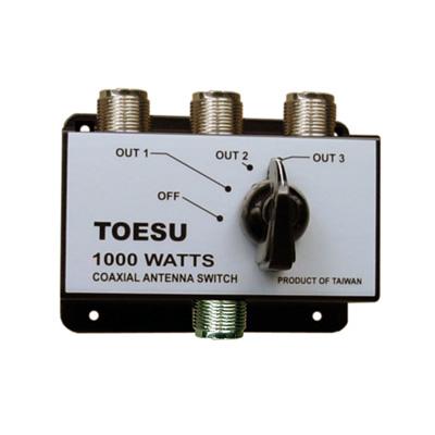 Coaxial Antenna Switch 3 ways 1000 Watts.