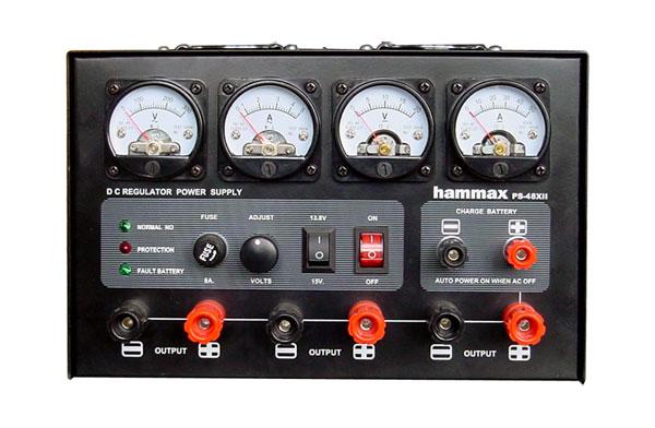 เร็กกลูเรเตอร์ 40 A.รุ่น PS-45XII และ48XII ชาร์จแบตฯและไฟฟ้าฉุกเฉินได้
